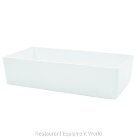 Tablecraft M4027WH Serving Bowl, Plastic