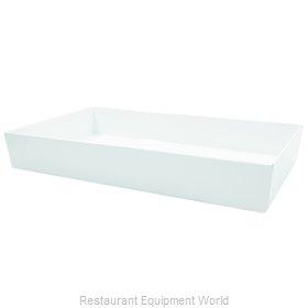 Tablecraft M4033WH Serving Bowl, Plastic