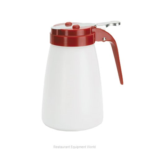 Tablecraft MW10RE Syrup Pourer Thumb-Operated