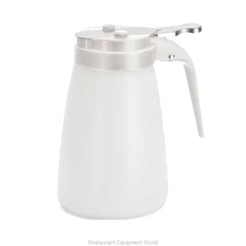 Tablecraft MW10W Syrup Pourer Thumb-Operated