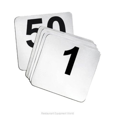 Tablecraft N125 Table Numbers Cards