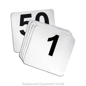 Tablecraft N150 Table Numbers Cards