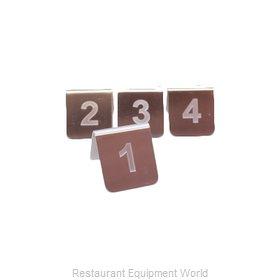 Tablecraft PT25 Tabletop Sign, Tent / Number