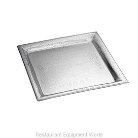 Tablecraft R1616 Platter, Stainless Steel