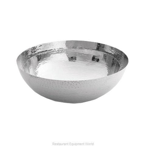 Tablecraft RB12 Bowl Serving Metal (Magnified)