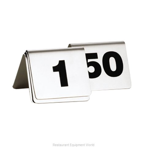 Tablecraft T150 Table Numbers Cards
