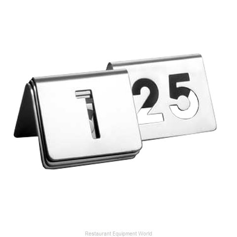 Tablecraft TC125 Table Numbers Cards
