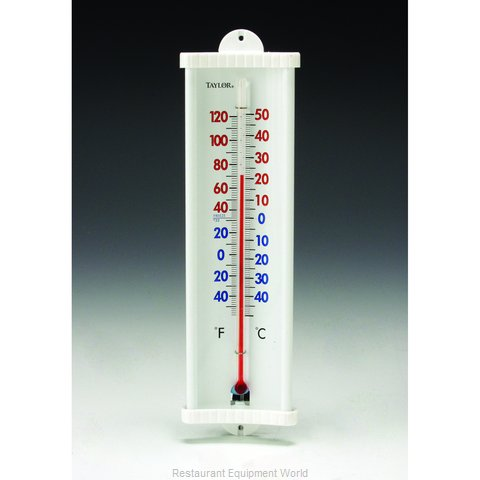 Taylor Precision 5132N Thermometer, Window Wall