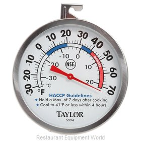 Taylor Precision 5994 Thermometer, Refrig/Freezer