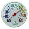 Taylor Precision 6714 Thermometer, Window Wall