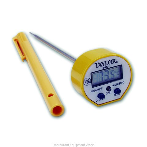 Taylor Precision 9842FDA Thermometer, Pocket (Magnified)