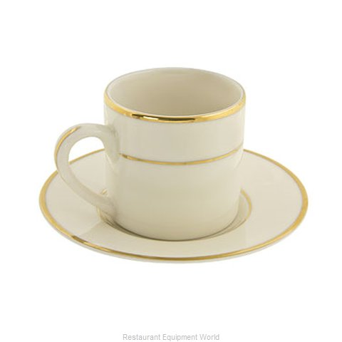 10 Strawberry Street CGLD0428 Cup & Saucer Sets