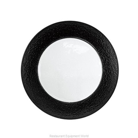 10 Strawberry Street HAL-BLK340 Service Plate, Glass