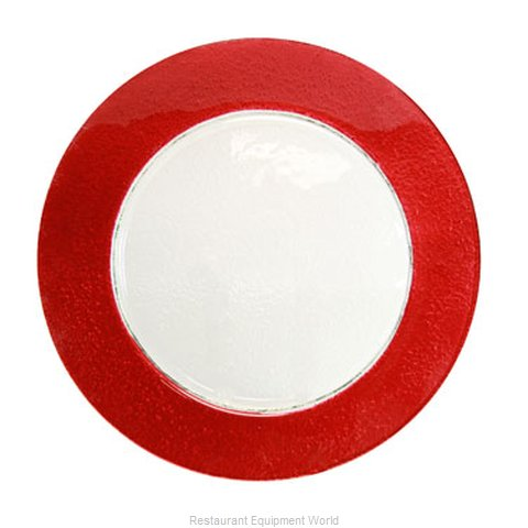 10 Strawberry Street HAL-RED340 Service Plate, Glass