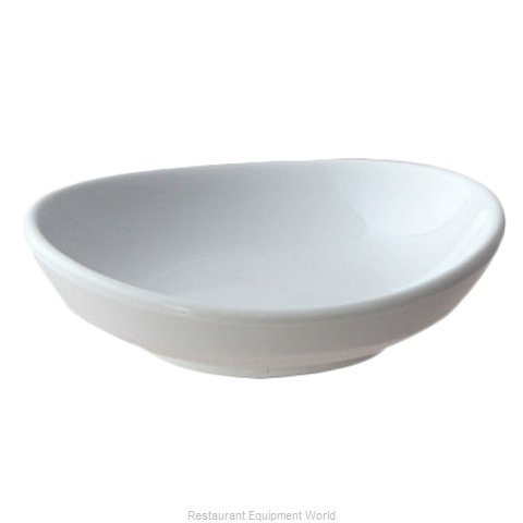 Thunder Group 19055WT Saucer, Plastic