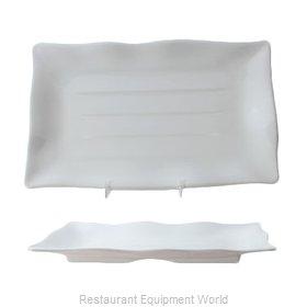Thunder Group 24120WT Plate, Plastic