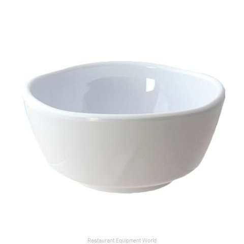 Thunder Group 39055WT Bowl Soup Salad Pasta Cereal Plastic