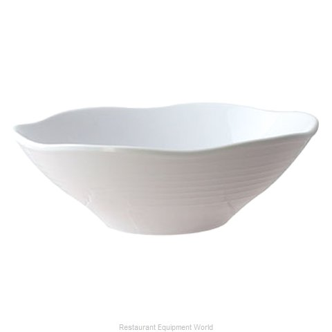 Thunder Group 39093WT Bowl Soup Salad Pasta Cereal Plastic