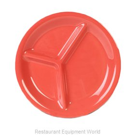 Thunder Group CR710RD Plate/Platter, Compartment, Plastic
