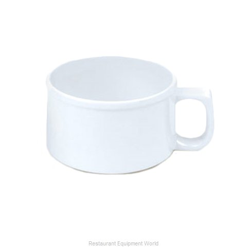 Thunder Group CR9016W Soup Cup / Mug, Plastic (Magnified)