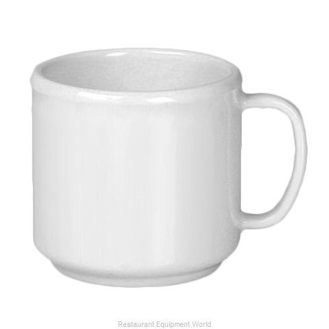 Thunder Group CR9035W Mug, Plastic