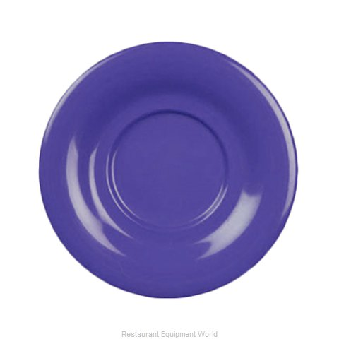Thunder Group CR9108BU Saucer, Plastic (Magnified)