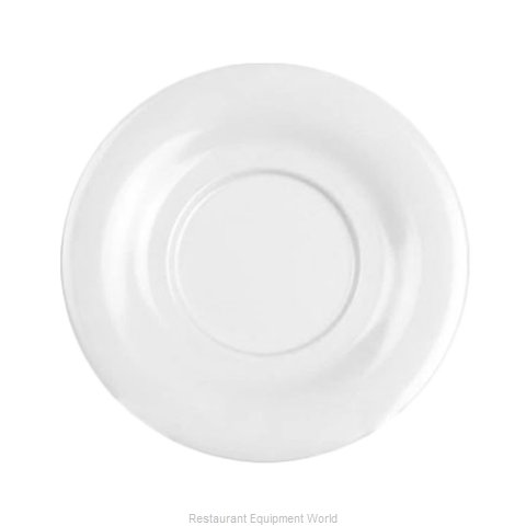 Thunder Group CR9303W Saucer, Plastic (Magnified)