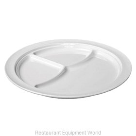 Thunder Group NS703W Plate/Platter, Compartment, Plastic