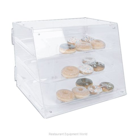 Thunder Group PLDC001 Display Case, Pastry, Countertop (Clear)