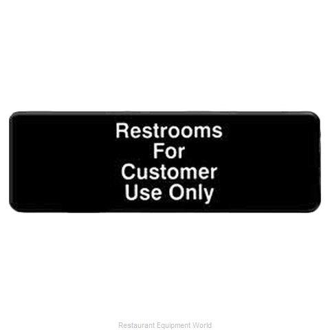 Thunder Group PLIS9321BK Sign, Compliance