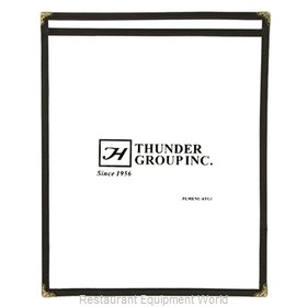 Thunder Group PLMENU-1BL Menu Cover