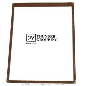 Thunder Group PLMENU-1BR Menu Cover