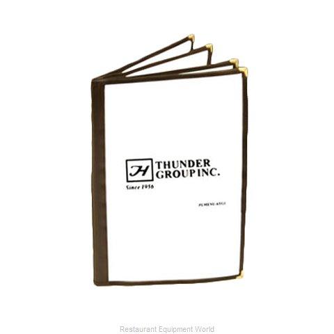 Thunder Group PLMENU-4BR Menu Cover