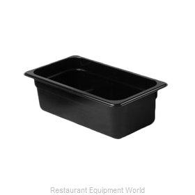 Thunder Group PLPA8134BK Food Pan, Plastic