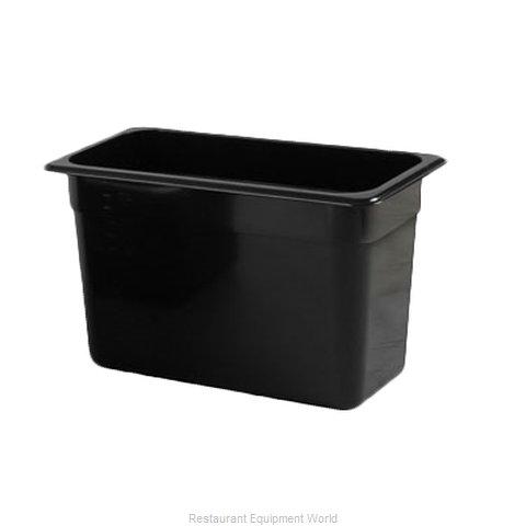 Thunder Group PLPA8138BK Food Pan, Plastic