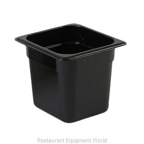 Thunder Group PLPA8166BK Food Pan, Plastic