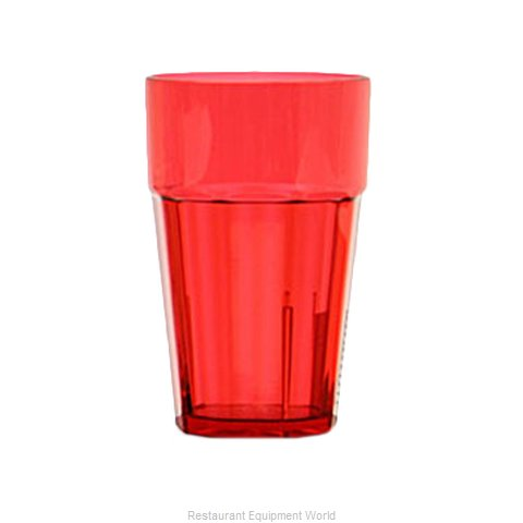 Thunder Group PLPCTB120RD Tumbler, Plastic (Magnified)