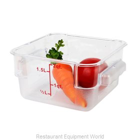 Thunder Group PLSFT002PC Food Storage Container, Square