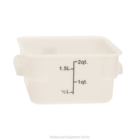 Thunder Group PLSFT002PP Food Storage Container, Square