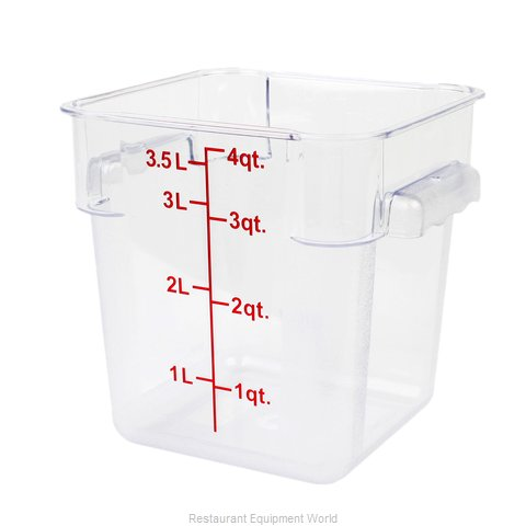 Thunder Group PLSFT004PC Food Storage Container, Square