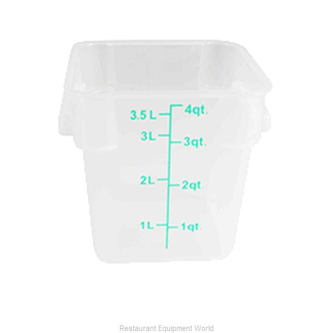 Thunder Group PLSFT004TL Food Storage Container, Square