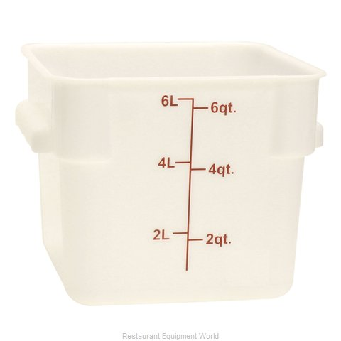Thunder Group PLSFT006PP Food Storage Container, Square