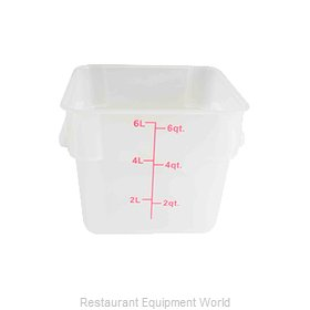 Thunder Group PLSFT006TL Food Storage Container, Square
