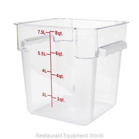 Thunder Group PLSFT008PC Food Storage Container, Square