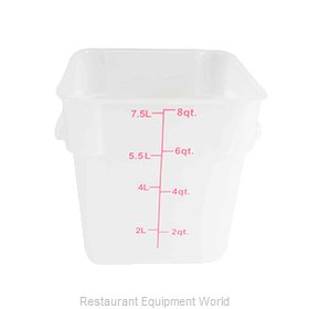 Thunder Group PLSFT008TL Food Storage Container, Square