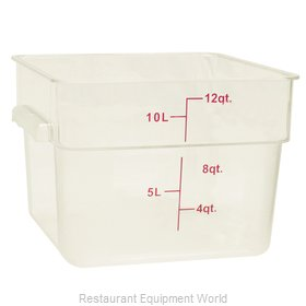 Thunder Group PLSFT012PP Food Storage Container, Square