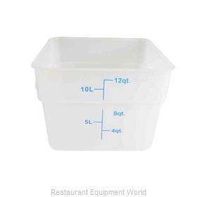 Thunder Group PLSFT012TL Food Storage Container, Square