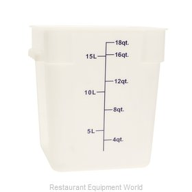 Thunder Group PLSFT018PP Food Storage Container, Square