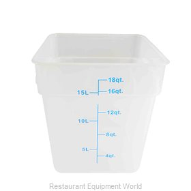 Thunder Group PLSFT018TL Food Storage Container, Square