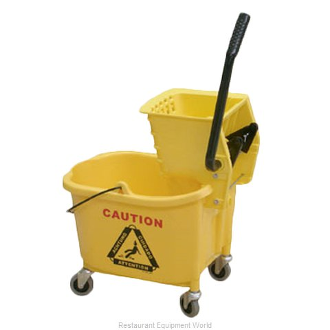 Thunder Group PLWB361 Mop Bucket Wringer Combination (Magnified)